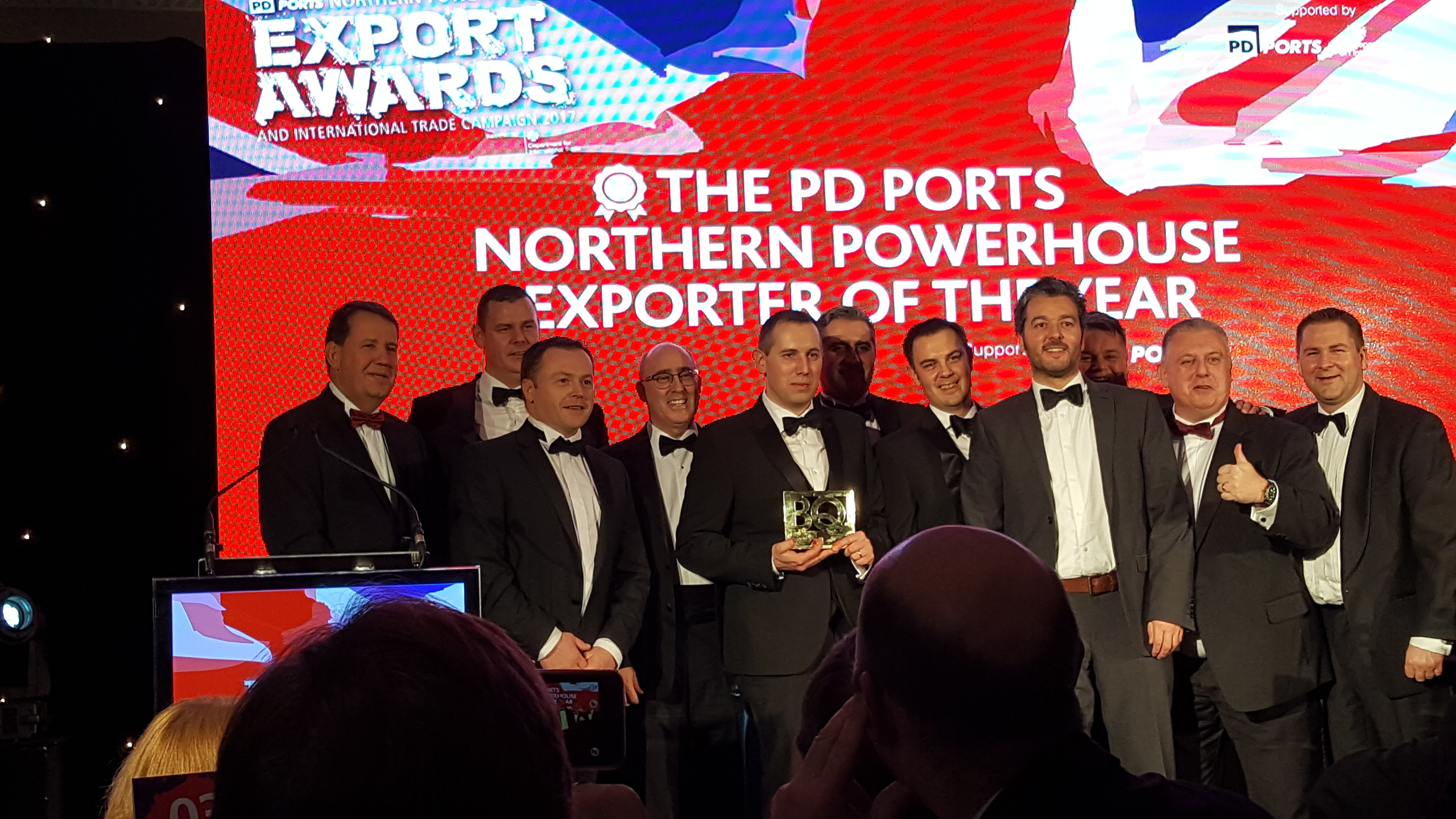 Chamber International - PD Ports Northern Powerhouse Export Awards & International Trade Campaign 2016/17