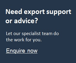 Chamber International - Export support and advice