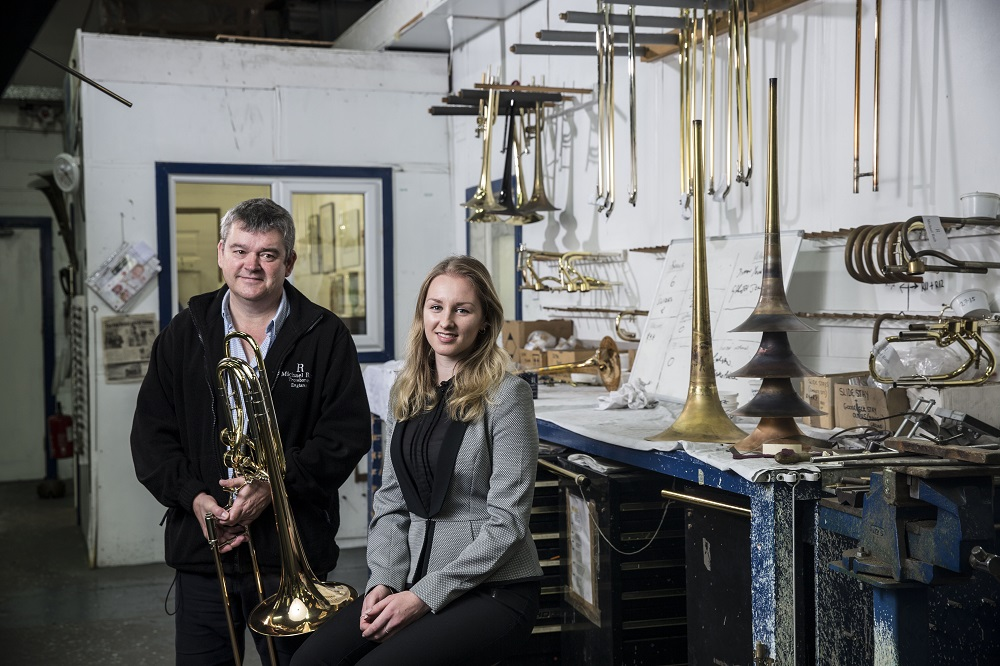 UK's only trombone maker asks Chamber International to help it hit the right note with China